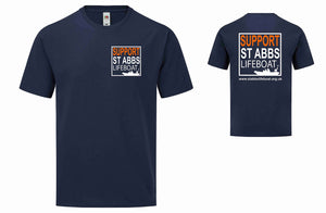 St Abbs Lifeboat T-Shirt Gents