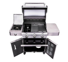Load image into Gallery viewer, Cast Stainless 3-Burner Gas Grill
