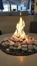 Load and play video in Gallery viewer, Concrete Lifestyles Rustic Fire Table