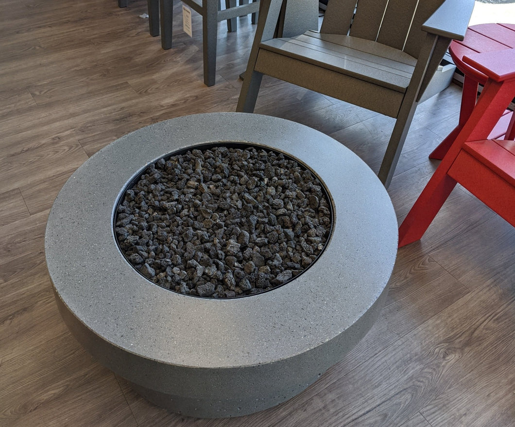 Concrete Lifestyles Rustic Fire Table