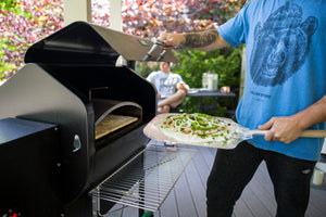 Green Mountain Pizza Oven Attachment