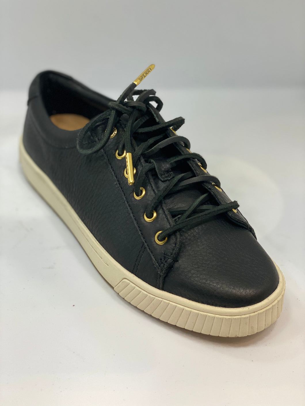 Sperry    vipe gold ladies leather shoe