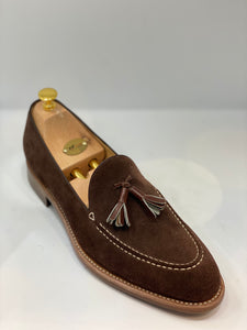 Hand made suede loafers NVass size 42