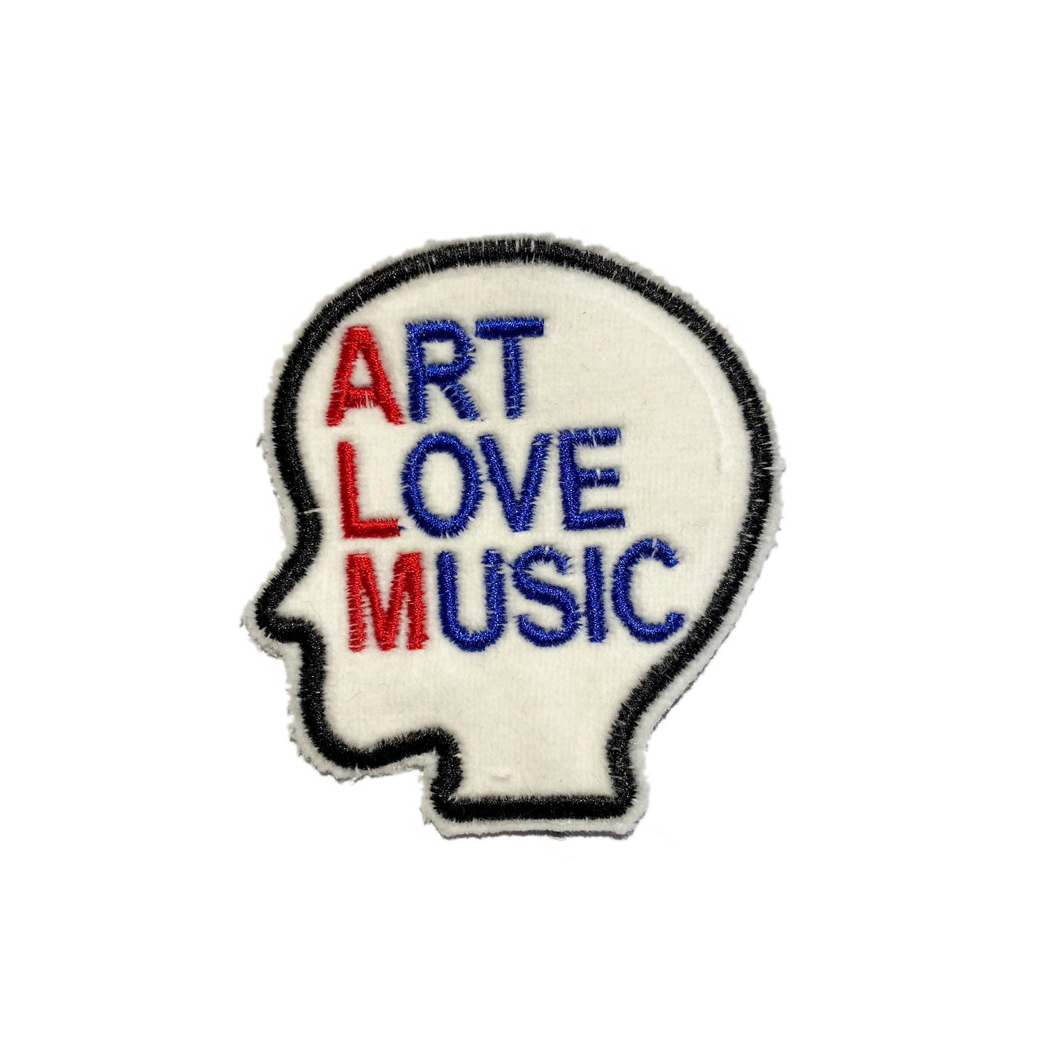 A Love Movement | ART LOVE MUSIC Embroidered Patch