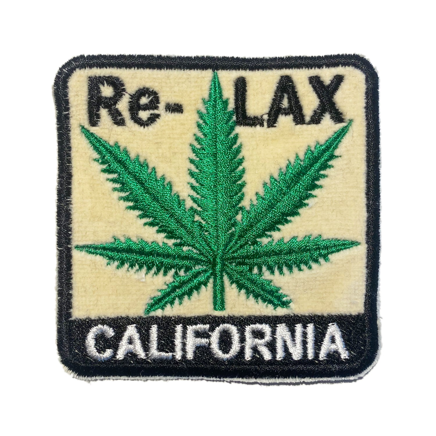 A Love Movement | Re-LAX CALIFORNIA Embroidered Patch