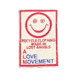 A Love Movement | ALM TAG Embroidered Patch
