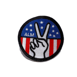 ALM American Peace Patch - A LOVE MOVEMENT