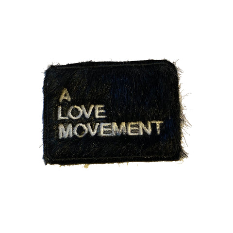 A LOVE MOVEMENT Fur Patch - A LOVE MOVEMENT