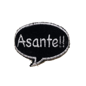 A Love Movement | Asante!! Bubble Embroidered Patch