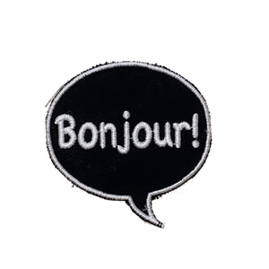A Love Movement | Bonjour! Bubble Embroidered Patch