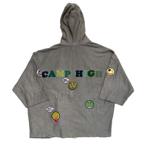 ALM x Camp High Cozy Robe Olive - A LOVE MOVEMENT