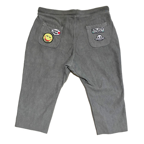ALM x Camp High Cozy 3/4 Sweatpants Olive - A LOVE MOVEMENT