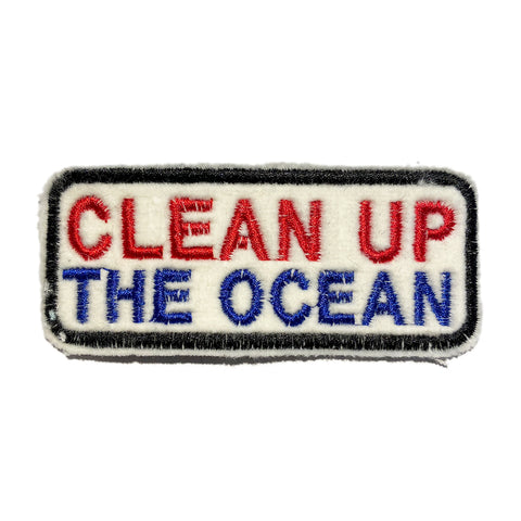 A Love Movement | CLEAN UP THE OCEAN!! Embroidered Box Patch