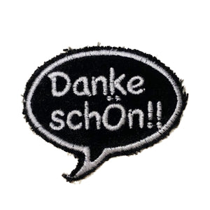 A Love Movement | Danke schön!! Bubble Embroidered Patch