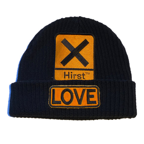 "ALM  x Damien Hirst LOVE Beanie ""ORANGE"" - A LOVE MOVEMENT"