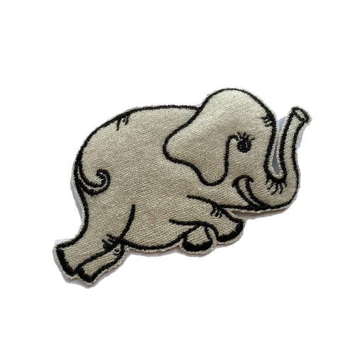 Cashmere Elephant Patch 3 - A LOVE MOVEMENT