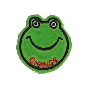 Frog CHANGE Patch - A LOVE MOVEMENT