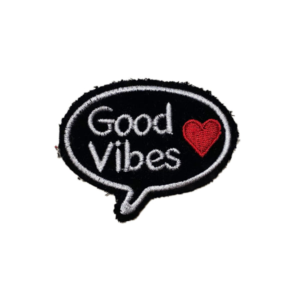 Good Vibes Bubble Patch - A LOVE MOVEMENT