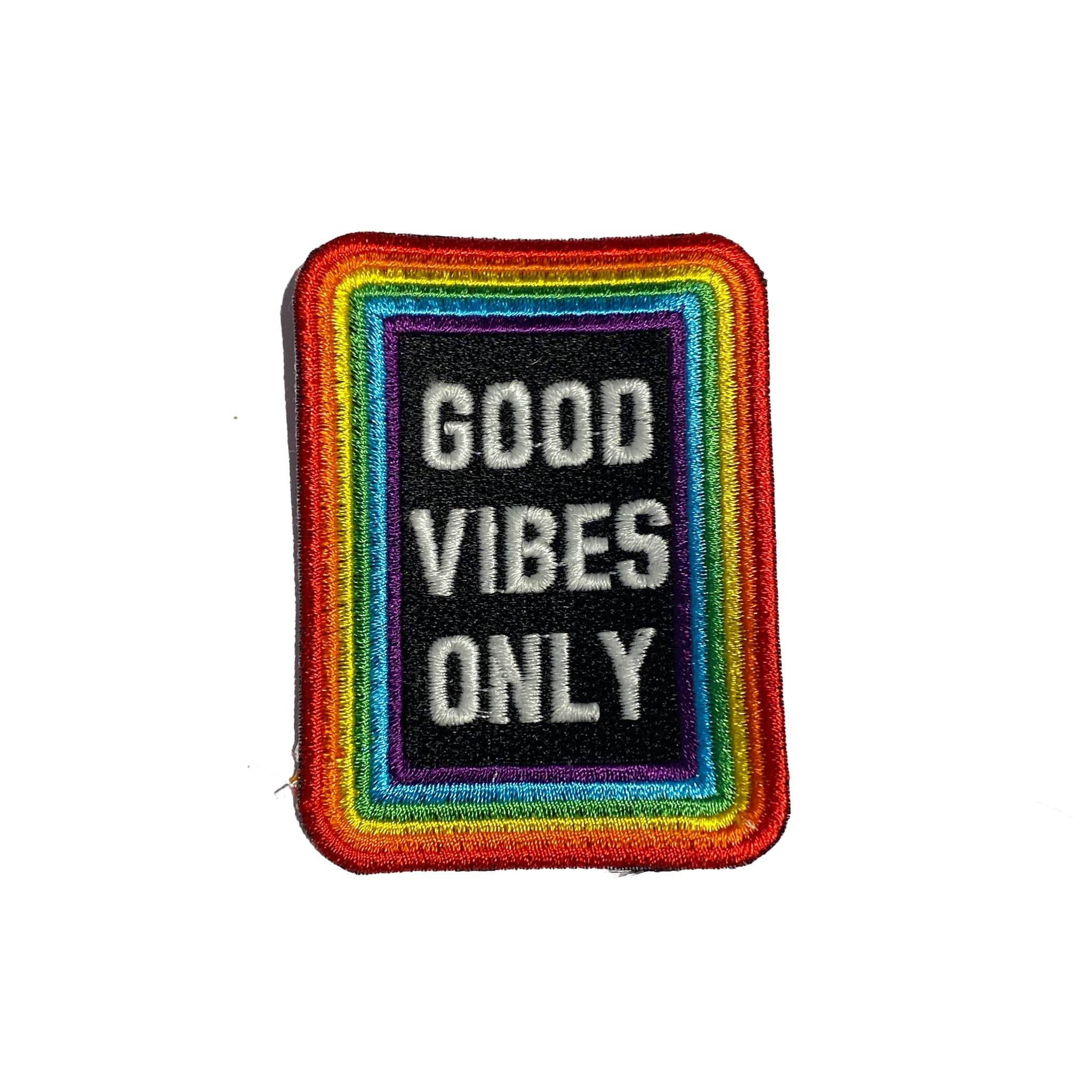 Good Vibes Only Patch Small - A LOVE MOVEMENT