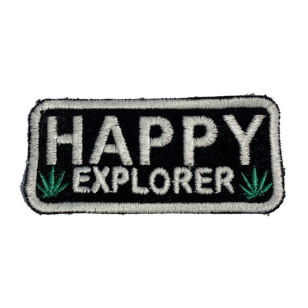 HAPPY EXPLORER Patch - A LOVE MOVEMENT