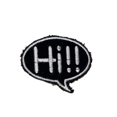 A Love Movement | Hi!! Bubble Embroidered Patch