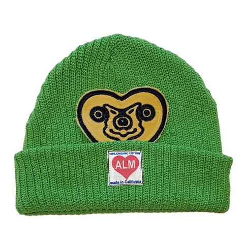 A Love Movement | ALM x Haroshi Green Beanie