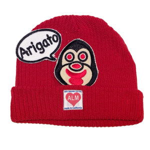 "ALM x Haroshi 2 patches  Beanie ""Arigato"" - A LOVE MOVEMENT"