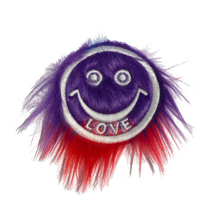 Smiley Fur LOVE Patch - A LOVE MOVEMENT