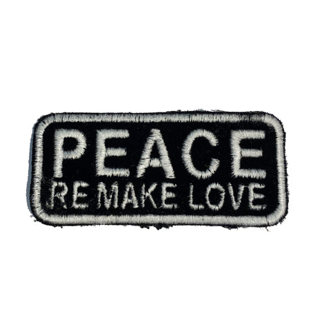 PEACE REMAKE LOVE Patch - A LOVE MOVEMENT