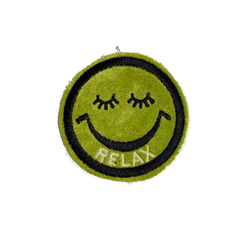 RELAX Smiley Patch - A LOVE MOVEMENT