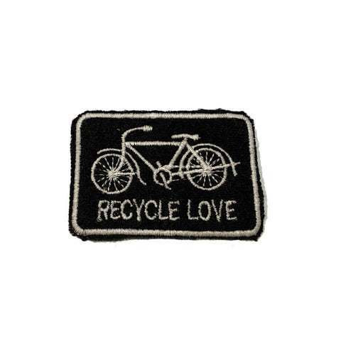 Cashmere RECYCLE LOVE Patch - A LOVE MOVEMENT