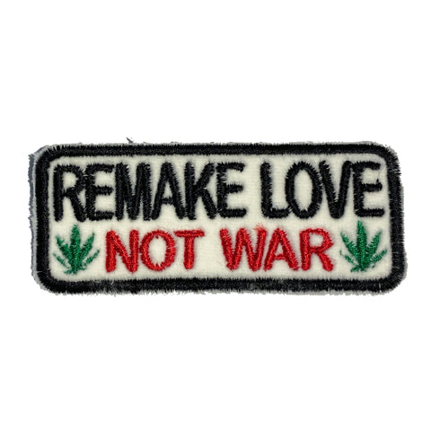 REMAKE LOVE NOT WAR Patch - A LOVE MOVEMENT