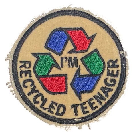 A Love Movement | I'M RECYCLED TEENAGER Embroidered Patch