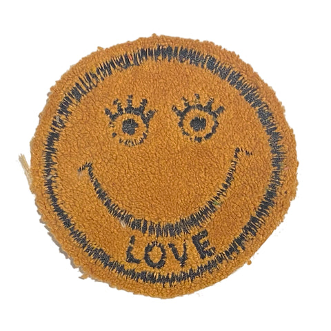 A Love Movement | LOVE Smiley Embroidered Patch