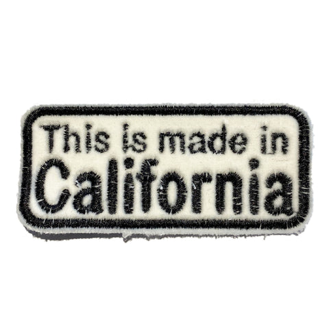 A Love Movement |This is made in California! Embroidered Box Patch