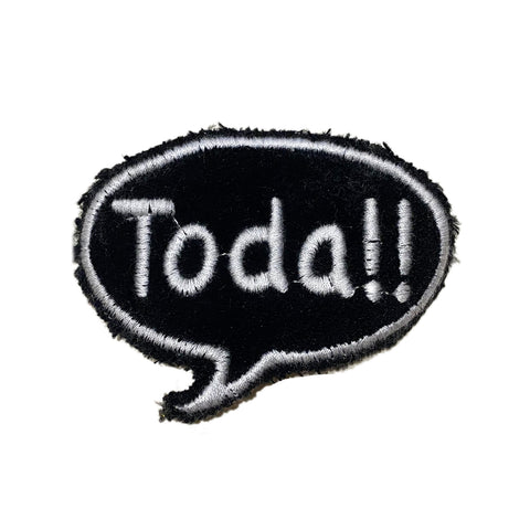 A Love Movement | Toda!! Bubble Embroidered Patch