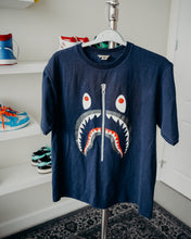 Load image into Gallery viewer, Bape Shark Tee Sz XL