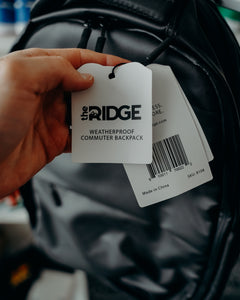 Ridge The Commuter Backpack - Weatherproof