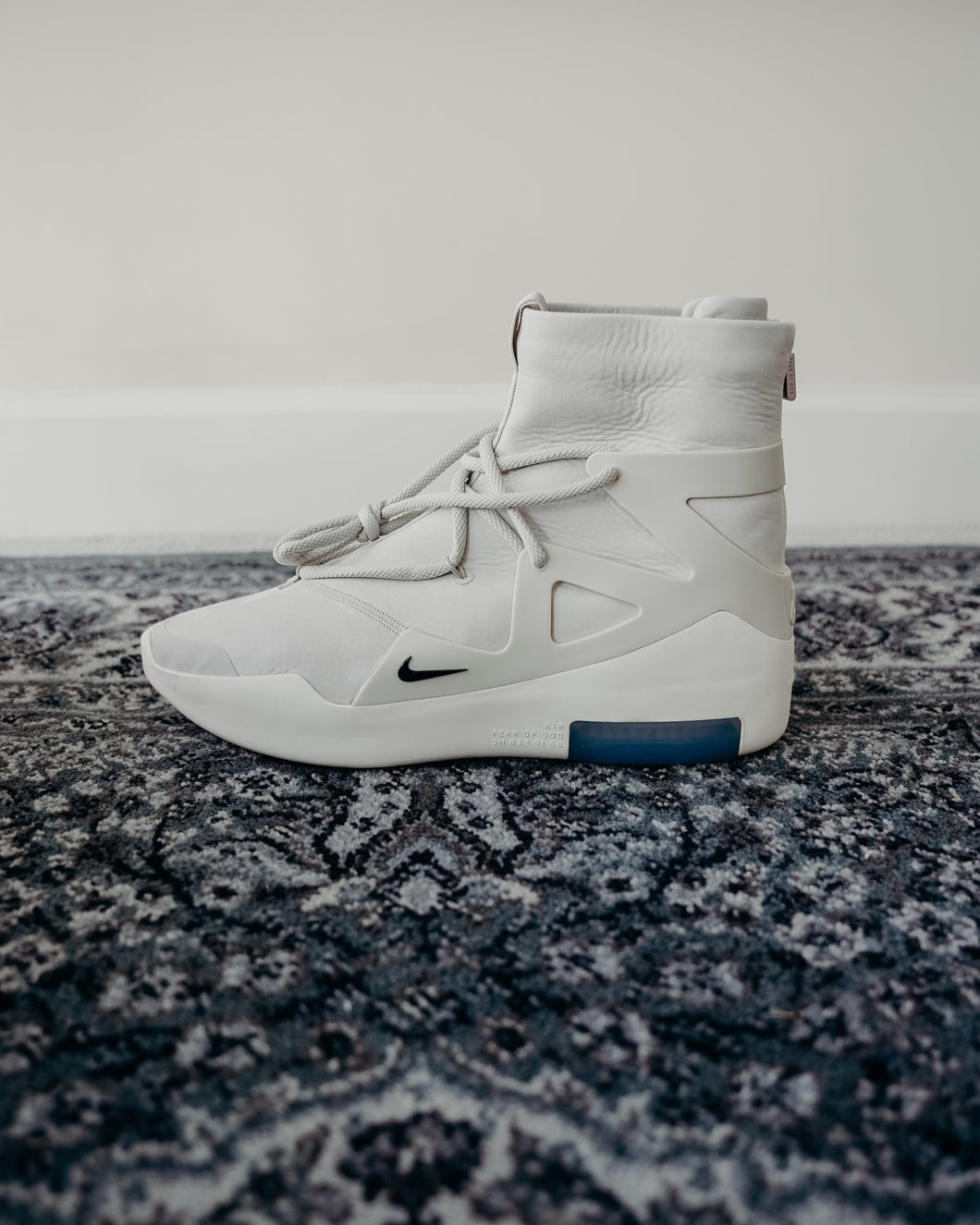 Nike Air Fear Of God 1 Sail Black Sz 12