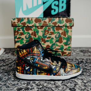 "Nike SB Dunk ""Stained Glass"" Size 11.5"