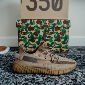 "Yeezy 350 V2 ""Earth"" Size 12.5"
