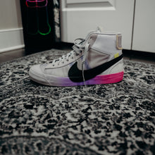 "Load image into Gallery viewer, Nike Blazer Mid Off-White Wolf Grey Serena ""Queen"" Sz 10.5 (NO ZIP TIE)"