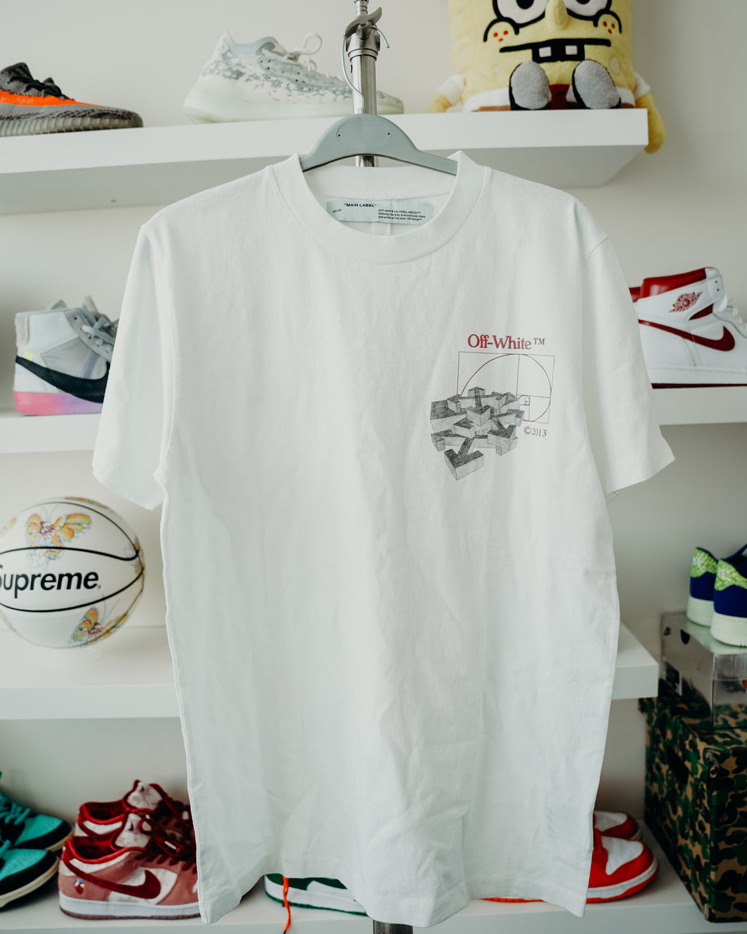 Off-White Golden Ration Tee Sz L