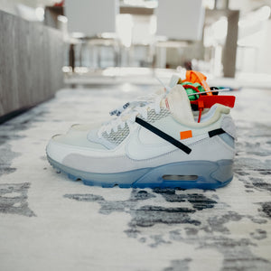 Nike Air Max 90 OFF-WHITE Sz 10.5