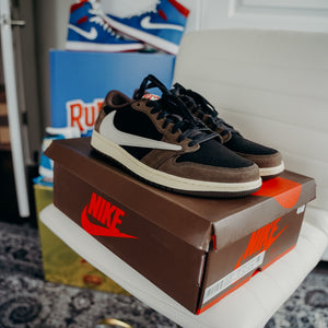 Jordan 1 Retro Low OG SP Travis Scott Sz 11