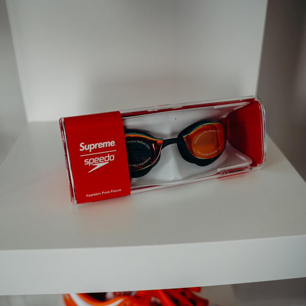 Supreme Speedo Swim Goggles Black
