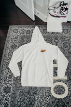 Load image into Gallery viewer, White ASSC Hoodie Size XL
