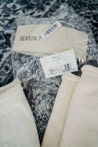 Yeezy Season 7 Socks Sz S/M