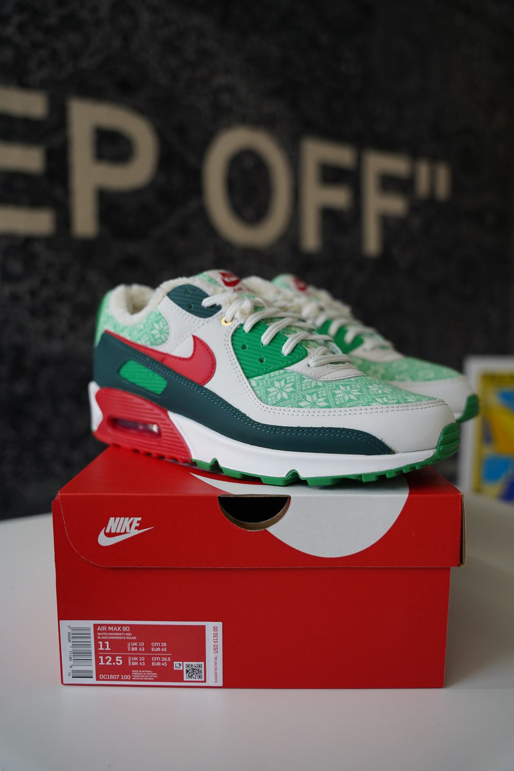 Nike Air Max 90 Nordic Christmas (2020) Sz 11