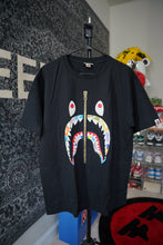 Load image into Gallery viewer, Bape Zip Tee MultiColor Sz XL